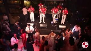 Festa de casamento com grupo de samba e pagode no Buffet Espaço Gardens - Grupo Apito de Mestre