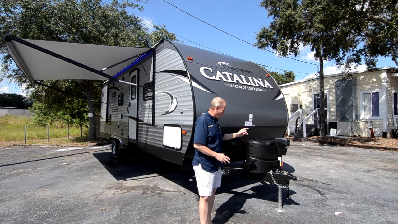 Coachmen Catalina 243Rbs >> 2017 Coachmen Catalina 243rbs Legacy Edition New Travel Trailer For Sale Lake Alfred Fl