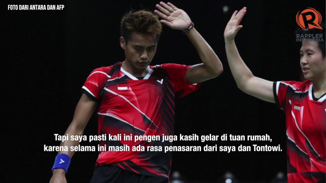 Liliyana Natsir ingin juara Indonesia Open bersama Tontowi Ahmad