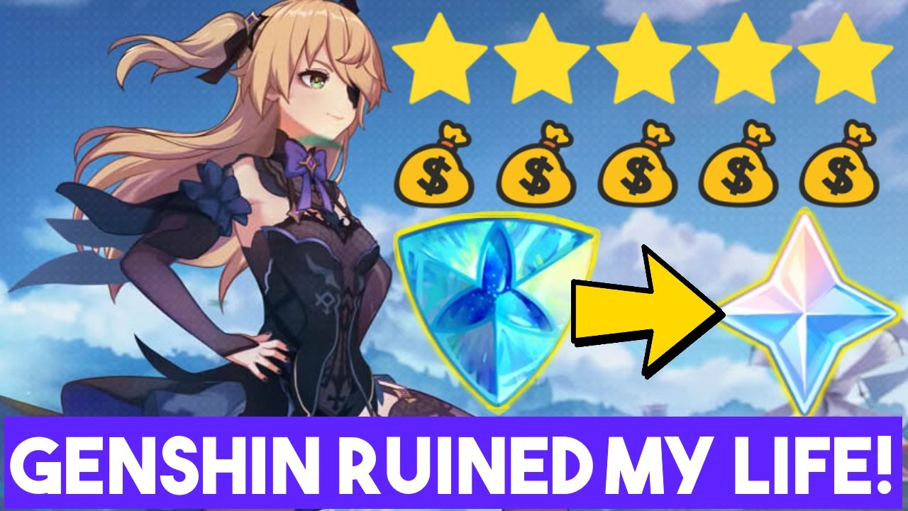 GENSHIN IMPACT RUINED MY LIFE!  SHOULD YOU SPEND MONEY IN GENSHIN?