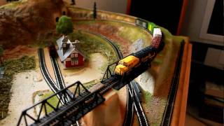 Terrain For Trains N scale layout