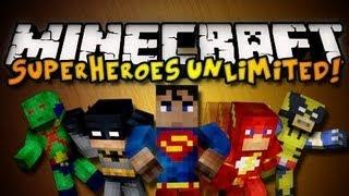 Обзор мода minecraft СуперГерои Часть 2 (Superheroes Unlimited) №49