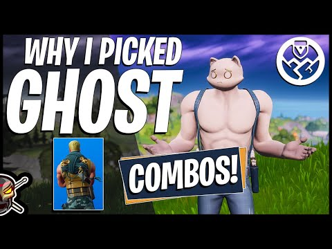 Why I Picked GHOST MEOWSCLES! Combos + Gameplay (Fortnite Battle Royale)