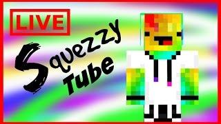Squezzy Tube Live! QnA,Roblox,Minecraft,Ect