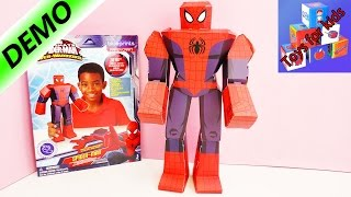Papercraft Marvel The Ultimate Spider Man - Build your own Spider Man! - Unboxing & Demo