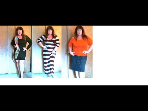 PLUS SIZE LOOKBOOK OVER 40