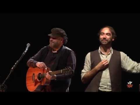 Andrea Pierdicca & Yo Yo Mundi - Spettacolo La Solitudine dell'Ape, promo 2014