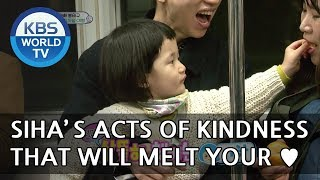 AWWW!!! SIHA's acts of kindness that will melt your heart XD  [The Return of Superman/2018.05.20]