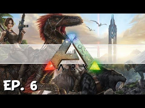 ARK: Survival Evolved - Ep. 6 - East River Camp! - Let's Play