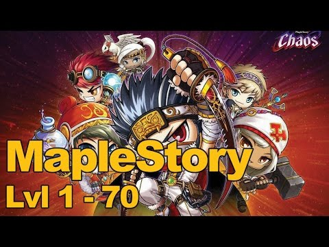 MapleStory Gameplay with the MMOs.com Gang (Level 1-70)