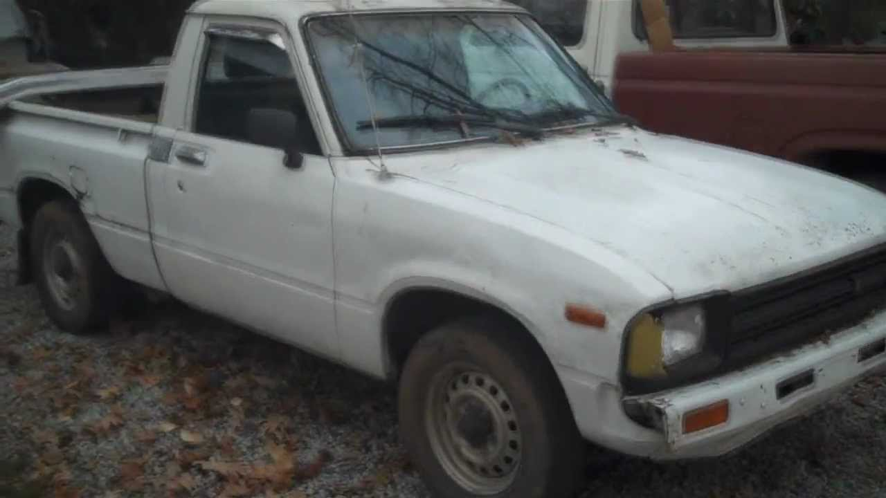 Toyota Pickup Parts >> 1982 Toyota Pickup Restoration - YouTube