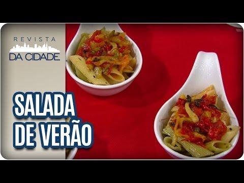 Receita de Salada de Macarrão - Revista da Cidade (02/03/2017)
