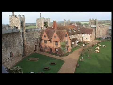 Framlingham Castle in Suffolk