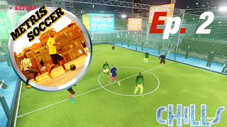 "Metris Soccer Ep. 2 ""New Update!!! Germany and Brazil Beaten!! Dynamic Tournament"" PC Gameplay"