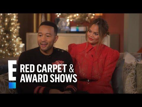 John Legend & Chrissy Teigen Talk '90s-Inspired Christmas Special | E! Red Carpet & Award Shows