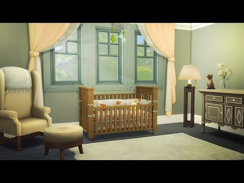Building The Nursery Gender Reveal The Sims 4 The