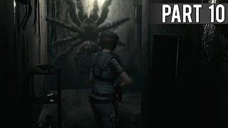 Resident Evil HD Remaster (Jill Walkthrough) - Part 10 - Giant Spiders