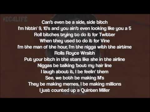 Meek Mill Litty ft Tory Lanez Lyrics On Screen YouTube - YouTube