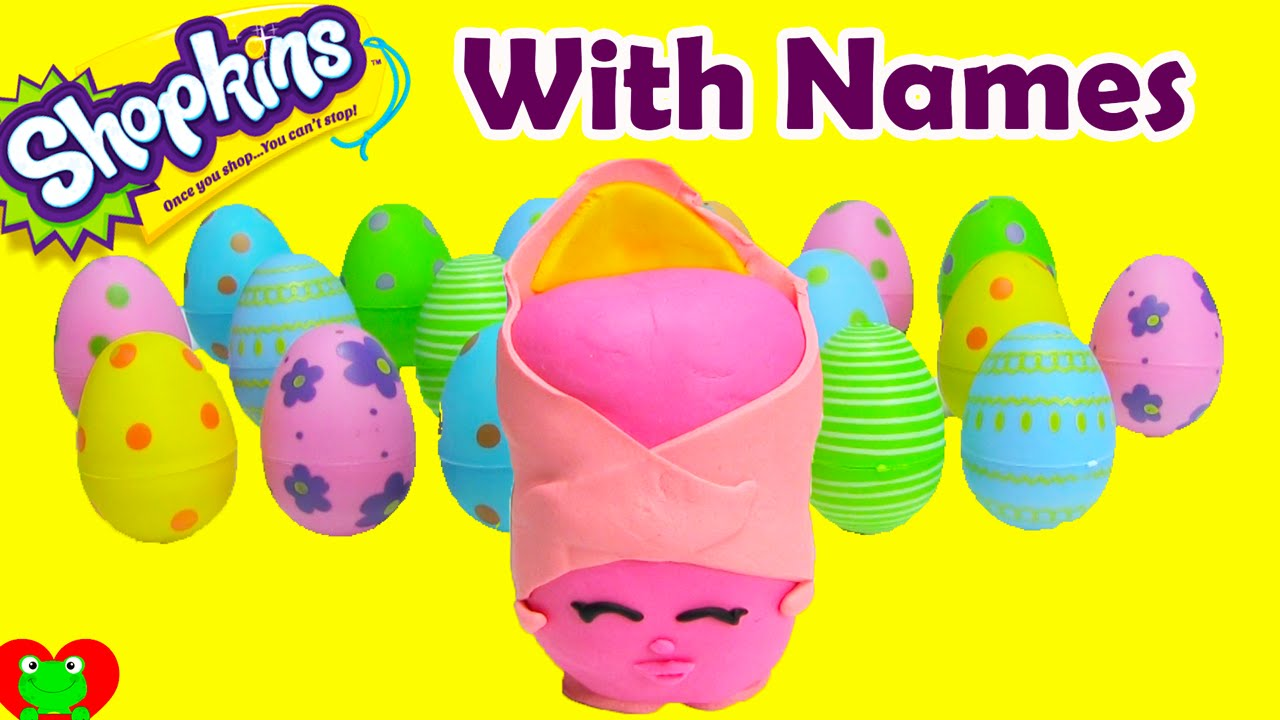 Great Shopkins Season 2 Challenge With Names