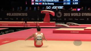 PALMA SIMOES Gustavo (POR) - 2015 Artistic Worlds - Qualifications Floor Exercise