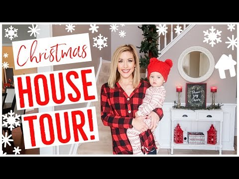 CHRISTMAS HOUSE TOUR 2018! 🏡🎄✨ NEW CHRISTMAS DECOR IDEAS! Brianna K + Myka Stauffer YouTube Moms