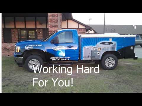 Ocean Air - Best Heat and Air Conditioning Service in OKC, Shawnee, Wewoka Area - HVAC Sales Service