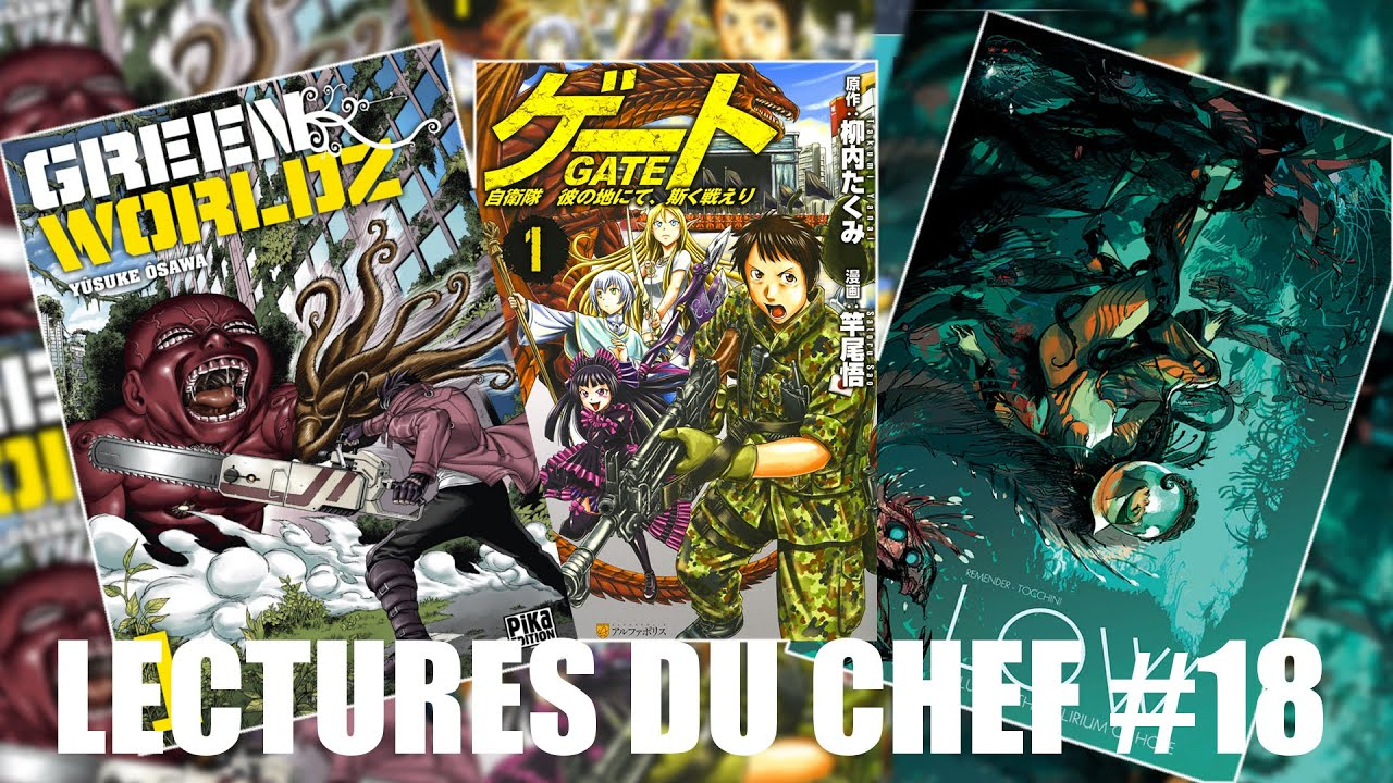 Green Worldz Gate Low Lectures Du Chef 18 Youtube
