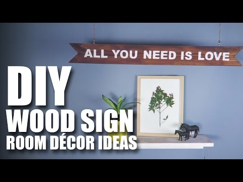 How to make a DIY Wood Sign