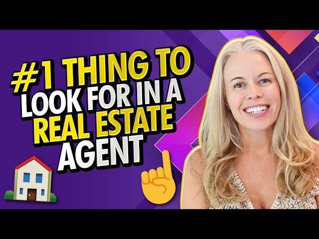 VA Buyers #1 Thing To Look For In a Real Estate Agent -  🏠