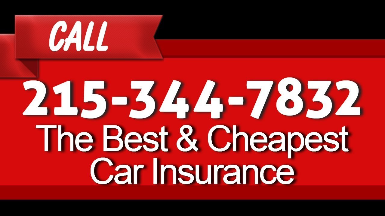 Cheap Car Insurance Hillsdale New Jersey: Cheap Car Insurance In Philadelphia