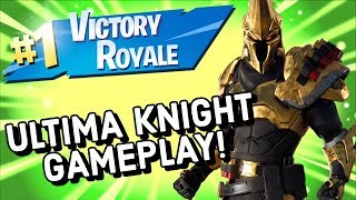 ULTIMA KNIGHT Skin Gameplay In Fortnite
