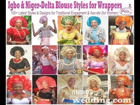 354a6b1291b0e5 Latest Igbo Blouse Styles for Wrappers  Niger-Delta   Igbo Women Fashion  (African Fashion)