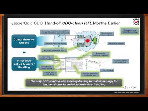 JasperGold RTL Designer Signoff with Superlint and CDC — Cadence Design Systems