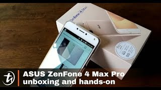 ASUS ZenFone 4 Max Pro ZC554KL unboxing and hands-on by TechNave.com