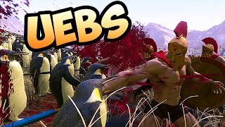 UEBS - Ultimate Epic Battle Simulator Gameplay German - Killer Pinguine