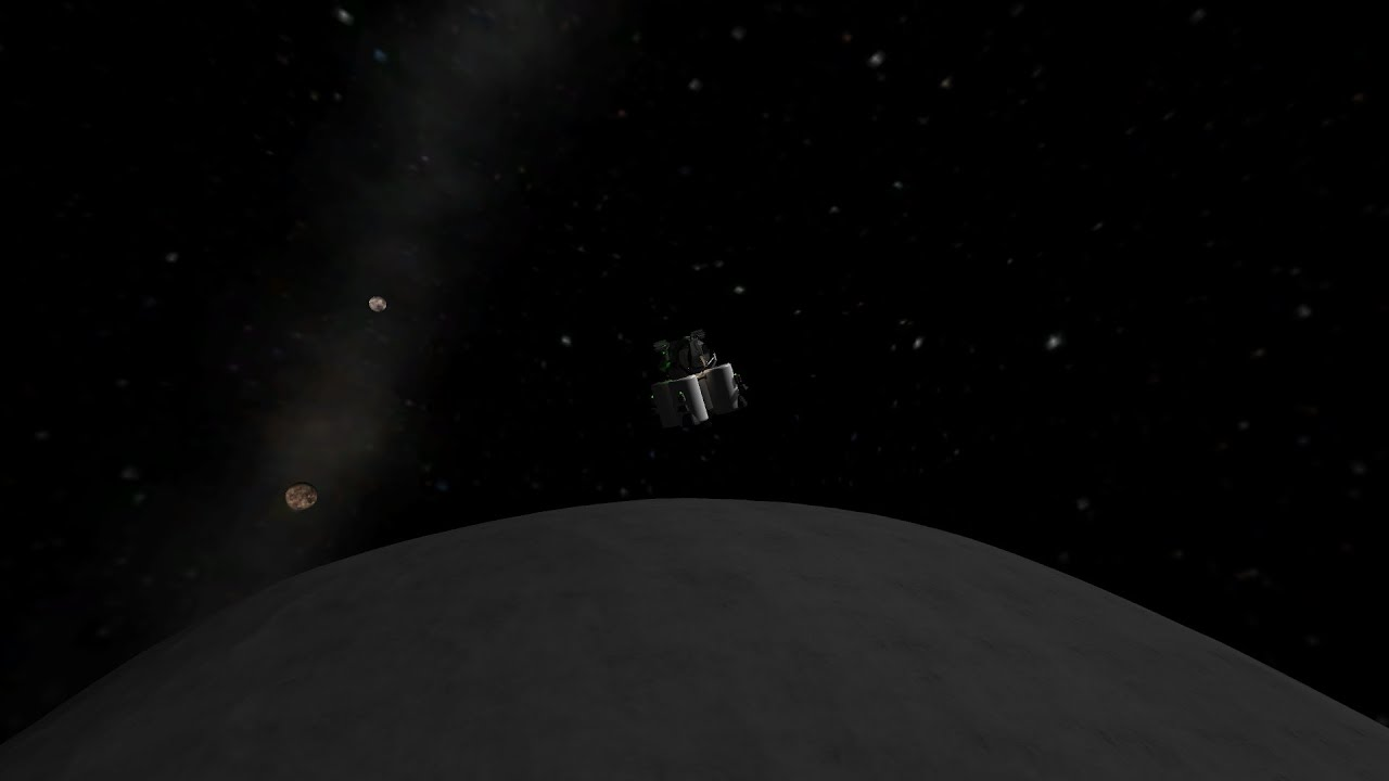 Hydra Moon: Manned Mission To Hydra, Pluto's Outermost Moon KSP RSS