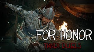 [For Honor] Taking Down a Rep 60 With Tiandi!