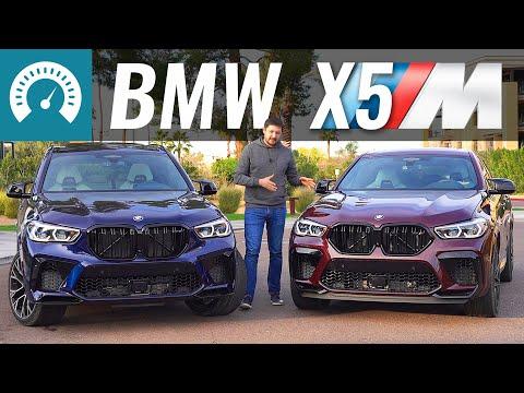 BMW X5M 2020 готов рвать RSQ8? Тест БМВ Х5M и X6M