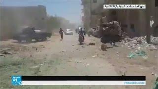 غارات جوية تستهدف مستشفى ميداني في إحسم بمحافظة إدلب السورية
