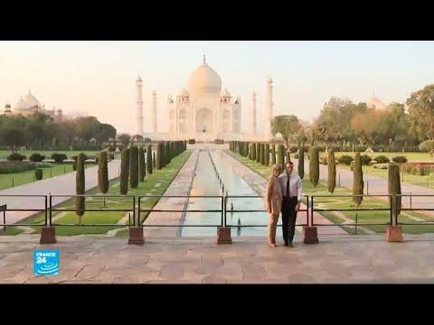 الرئيس الفرنسي يختتم زيارة للهند شهدت عقودا اقتصادية ومشاريع بيئية  - 15:23-2018 / 3 / 12