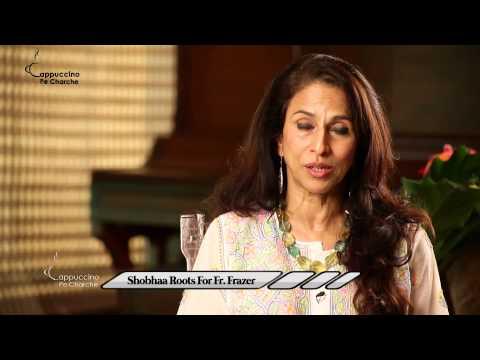 Shobhaa Roots For Fr. Frazer || Shobhaa De