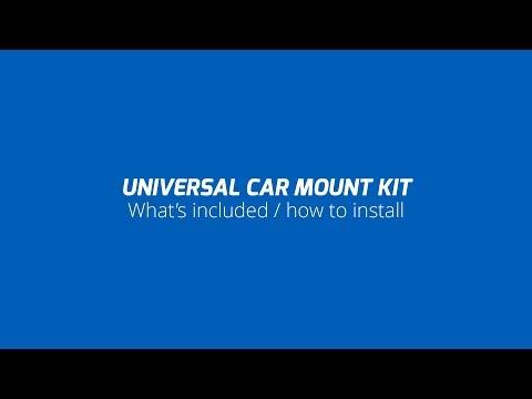 Quad Lock How To - Universal Car Mount Kit