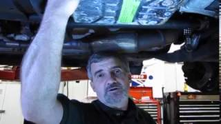Transmission Service On A Full Size Range Rover video screen shot
