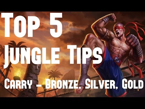 Top 5 Jungle Tips To Carry Low Elo Bronze, Silver, Gold