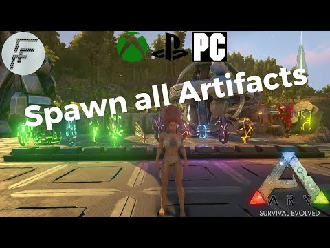 ARK: Survival Evolved How to spawn all Artifacts.