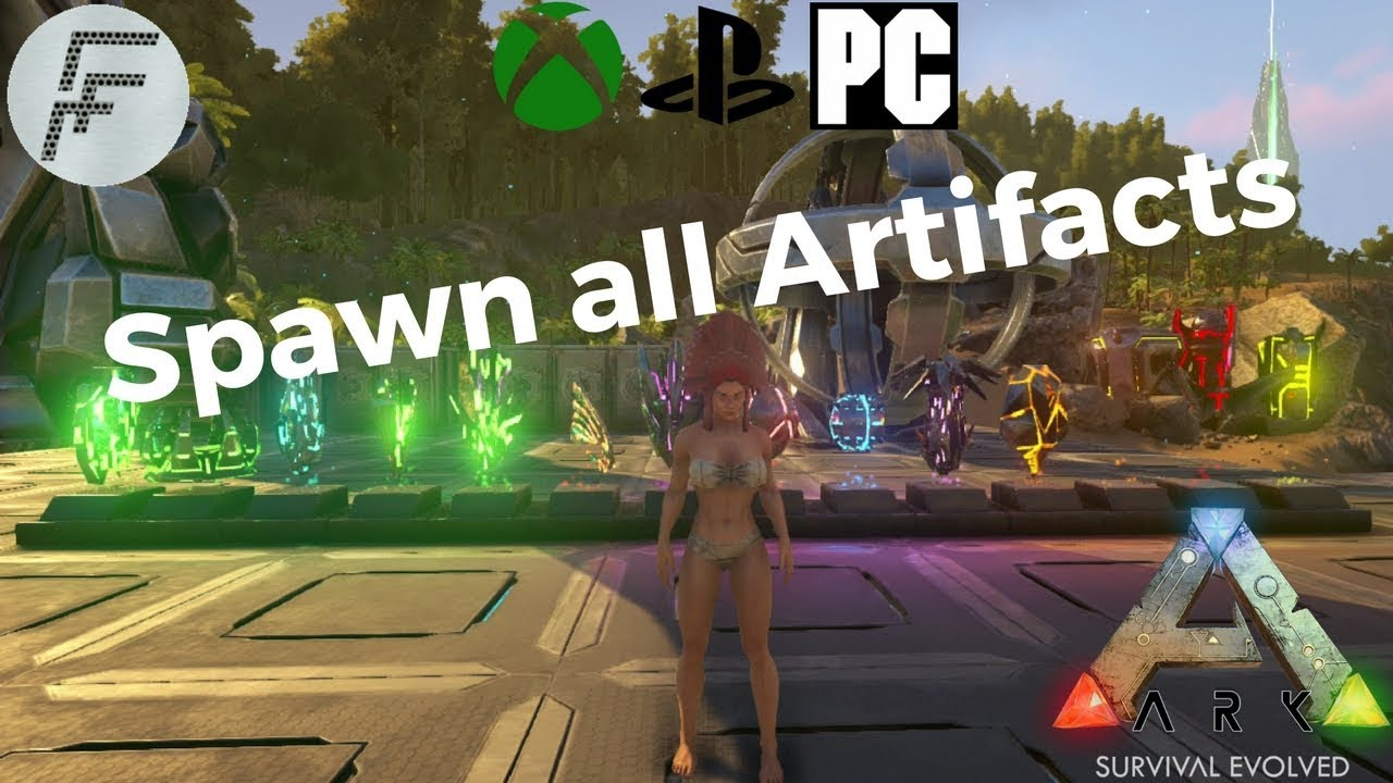 ARK: Survival Evolved How to spawn all Artifacts
