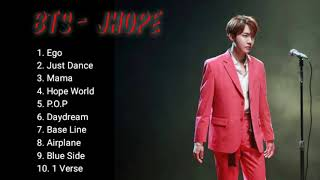 BTS JHope - Solo Songs Playlist
