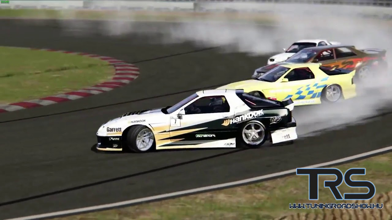Durva drift az Assetto Corsa-ban