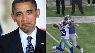 President Obama Comments on Controversial Call in Lions vs Cowboys Game