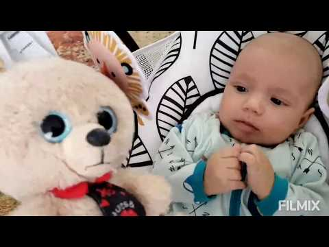 Video For Kids-Puppy Rex And Baby Matvik.